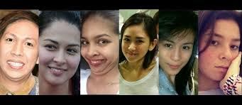 the philippines most beautiful celebrities with and without make up
