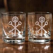 crystal bourbon glasses pappy double old fashioned rocks set engraved personalized papp