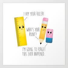I Am Your Ruler Art Print