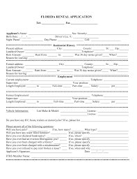 florida rental application form pdf eforms florida rental application form pdf eforms fillable forms