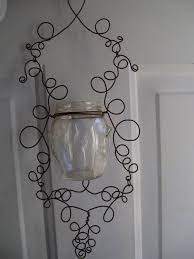 How to Make a Wire Hanging Candle Holder!