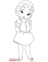 Nothing brings out a little artist like coloring. Baby Disney Coloring Baby Easy Princess Coloring Pages Novocom Top