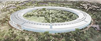 cupertino apple office. apple project rendering cupertino office h