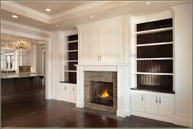 Built In With Fireplace Fireplace With Built In Bookshelves American Hwy