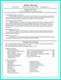 Sample Of Nursing Resume Cover Letter New Cover Letter For School