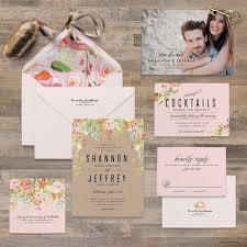 Sample Of Wedding Invatation Watercolor Flower Wedding Invitation Samples Wedding Invitation