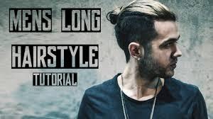 Long Hair Style Men mens long hair style 2016 tutorial quiff & man bun youtube 1827 by wearticles.com