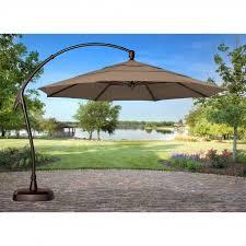 fetching sunbrella market umbrella and innovative offset patio umbrella base belham living 13 ft 9 as