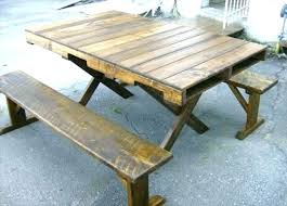 rustic pallet furniture. Rustic Pallet Furniture Dining Room Table