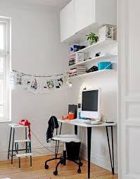 shelving for home office. Beautiful Office Combining Floating Shelving And Hanging Cabinets Is Also Possible For Shelving Home Office A