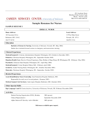 10 Best Nursing Resume Templates Pediatric Nurse Sample Template