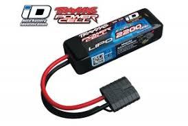 <b>Аккумулятор TRAXXAS</b> LiPo 7.4V 2S 25C 2200mAh (iD Plug ...