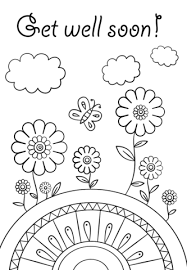 Get Well Soon Coloring Page From People Category Select From 26202