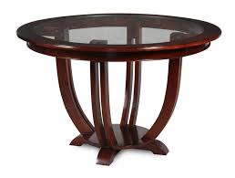 hybrid entrance dining table glass inlay american oak timber