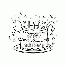25 Het Beste Happy Birthday Tekening Kleurplaat Mandala Kleurplaat
