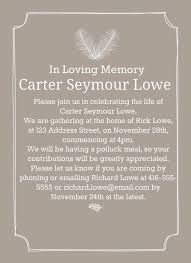 Funeral Invitation Template New 48 Best Funeral Reception Invitations Weddings Pinterest Dads