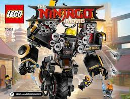 Building Instructions - LEGO 70632: Quake Mech