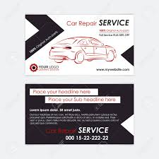 Make Your Own Business Card Design Auto Repair Business Card Template Create Your Own Business