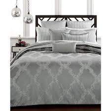 refine your fashionable bedroom style with the rous sheen and modern elegance of this chalice full queen duvet cover from hotel collection