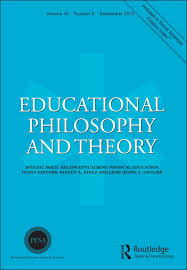 educational philosophy and theory special issue chinese  educational philosophy and theory