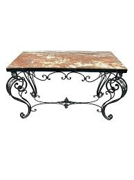 wrought iron coffee table living cool rod iron coffee table and marble wrought with scroll designs coffee table with rod wrought iron and glass outdoor