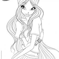 Winx Club Pixies Coloring Pages Luxury Kleurplaat Silvermist