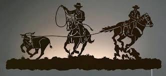 western metal art silhouettes western metal art silhouettes nice cowboy metal wall art image wall art