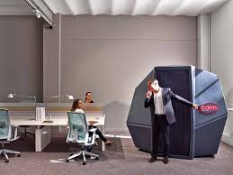 HAWORTH calmspace self contained pod for napping at work