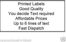 Printed Return Address Label Details About 1000 Pre Printed Return Address Labels On Rolls
