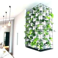 vertical wall planters indoor kitchen herb garden mounted chic diy living cube kit i