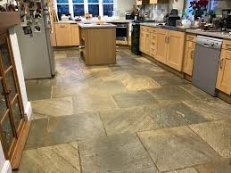 Slate Tile Floor Designs Cleaning And Sealing Multi Coloured Slate Flooring In