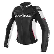 lady leather jacket black white pink zoom