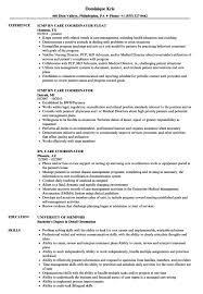 Care Coordinator Cover Letter Patient Care Coordinator Resume Specific Crime Lab Analyste