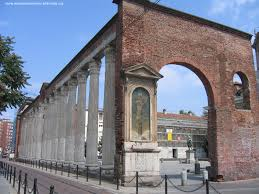 Colonne Chiesa San Lorenzo Chiese A Milano Pinterest