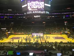 Lakers Seating Chart View Staples Center Premier 14 Clippers Lakers Rateyourseats Com