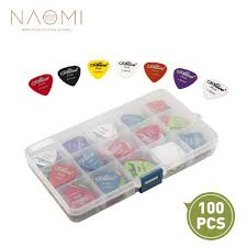 <b>NAOMI</b> Guitar Picks 100pcs Acoustic <b>Electric Guitar</b> Picks Plectrum ...