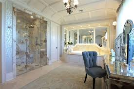 luxury master bathrooms. Luxury Master Bathroom With Frameless Shower And Rain Showerhead Marble Floors Bathrooms