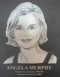Angela Murphy Track/Cross Country (1994-98) | Inducted October 22, 2004 • Native of Cork, Ireland • GTE Academic All American - 5771798