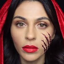 14 unbelievable celebrity makeup transformations red riding hood
