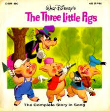 the fully orchestrated mini ion also appeared on side two of the first three little pigs 7 read along book and record set and on the pilation