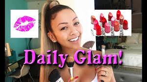 daily makeup routine with some glam liane v makeup tutorial