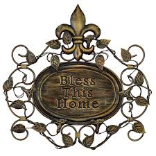 accent pieces for less metal wall art decorhome  on bless this home metal wall art with studio 350 bless this home metal wall decor metal wall decor with