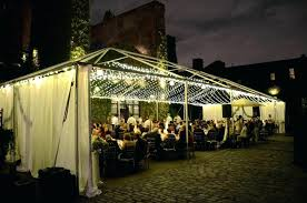 nyc lighting rental. film lighting rental new york string lights suspended canopy wedding party nyc i