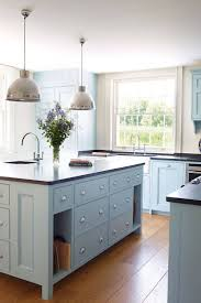 top 73 common powder blue kitchen cabinets styles and colors colored inspiration the inspired room refaced kerf vertical cabinet black hutch red telephone