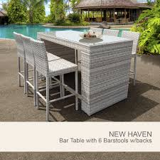 outdoor bar table and chairs. Mesmerizing Outside Bar Table 22 Stools Round Wicker Chair Aluminum Childrens Outdoor Furniture High Back And Cane . Sofa Dazzling Chairs