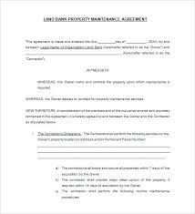 Free Service Contract Agreement Form Example Format In Word Sample ...