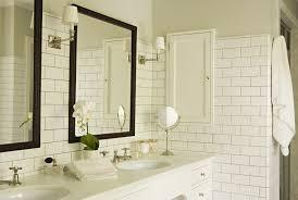 los angeles antique white bathroom