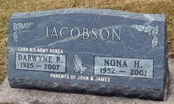 Nona Hermine Bohnsack Jacobson (1932-2001) - Find A Grave Memorial