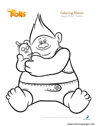 Trolls Movie Coloring Download Trolls Movie Coloring Pages Free