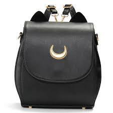 women cat sailor moon luna backpack girls cute cosplay rucksack school bags cod